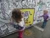 Graffiti at the fair.