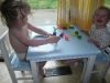 Fun with Play Doh.