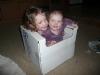 Girls in a box.