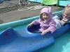 CareBear on the canoe.