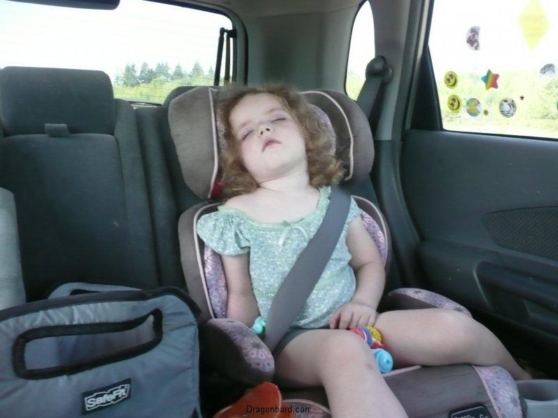 Car trip sleeper #1.