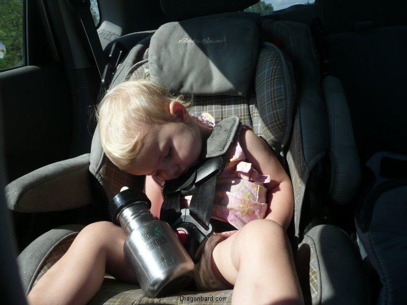 Car trip sleeper #2.
