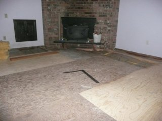 Living room floor!