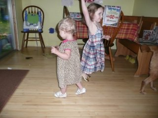 Thanksgiving dancing.