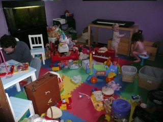 Playroom before...