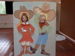 I wanna be a cowboy...