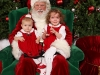 CareBear and LiliBee with Santa