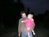LiliBee and Papa confer.