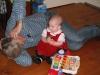 AliBoo and Grandpa.