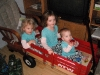 A wagon from Santa!