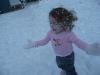CareBear loves the snow.