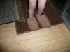 Papa\'s slippers.