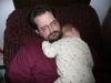 Papa and LiliBee take a nap.