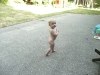 Our second little nudist.
