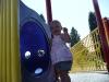 LiliBee heads into a tunnel.