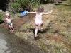 CareBear found a puddle!