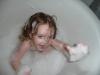 CareBear likes bubbles.