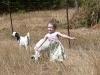 Dances with goats.