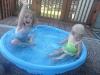 Splash down.