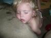LiliBee sleeps.