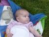 AliBoo in the grass.
