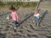 CareBear and LiliBee on the beach.
