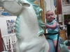 LiliBee on a Seahorse.