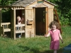 Nice day for a play house.