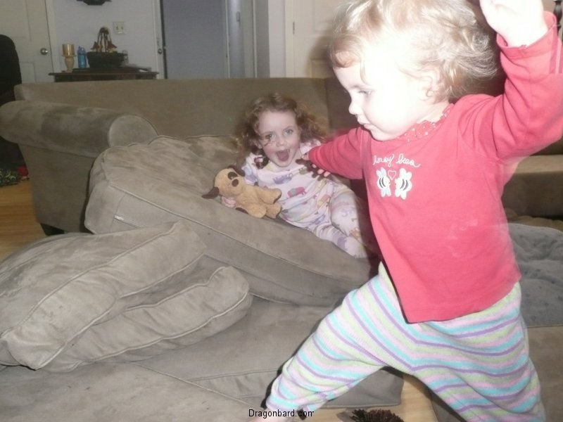 Crazy kids.