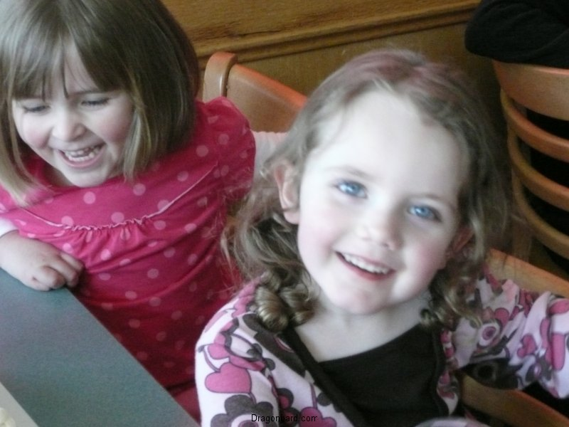 Cute cousins.