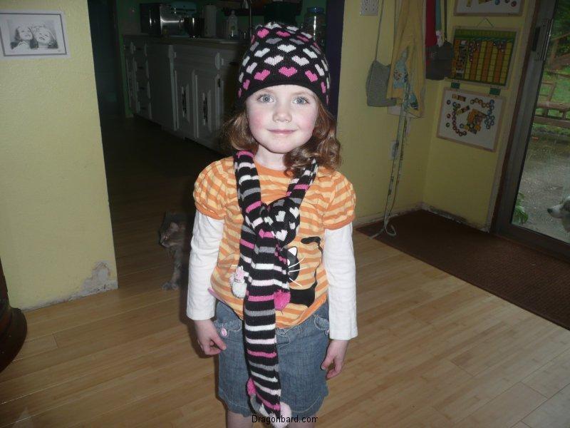 CareBear dressed herself!