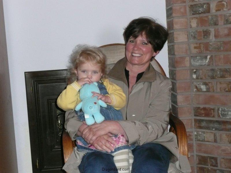 LiliBee tells Grandma all about it.