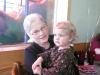 LiliBee hangs with Grams.