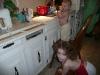 Cupcake making.