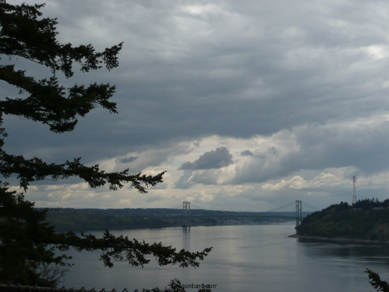 View of the Narrows from 5 mile drive.