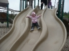 LiliBee on the big slide.
