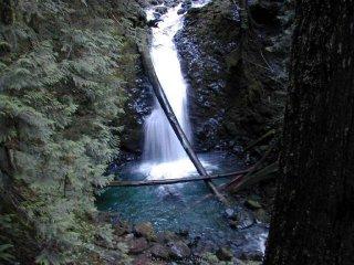 Murhut Falls from the overlook