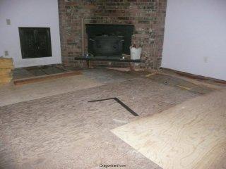 Living room floor!