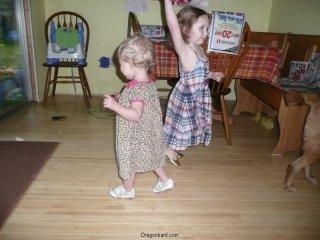 Thanksgiving dancing.