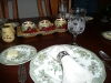 Thanksgiving table at Grams\'.