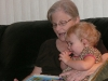 Story time with Grams.