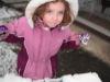 CareBear in the snow.