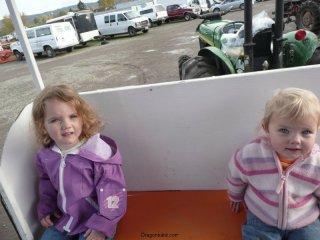 Tractor ride!