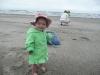 LiliBee on the beach.