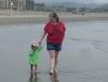 Amy\'s turn to walk with LiliBee.
