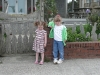 CareBear and Cousin H aren\'t excited about posing.