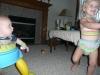 LiliBee dances.