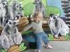 At the zoo.