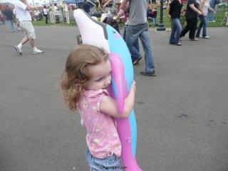 CareBear\'s dolphin.