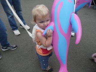 LiliBee\'s dolphin.